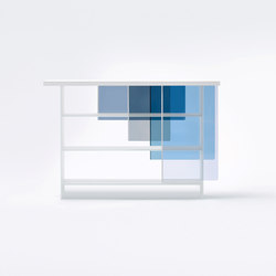 Layers | Shelving modules | Glas Italia