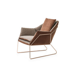 New York Armchair | Loungesessel | Saba Italia