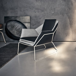 New York | Armchair | Lounge chairs | Saba Italia