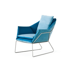 New York | Armchair | Loungesessel | Saba Italia