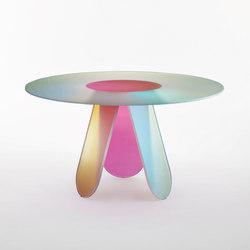 Shimmer dining | Dining tables | Glas Italia