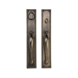 Entry Sets - CS-721HH | Handle sets | Sun Valley Bronze