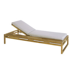 Kontiki Chaise with Side Tray | Sun loungers | emuamericas