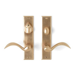 Entry Sets - CS-407PLD | Handle sets | Sun Valley Bronze