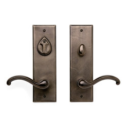 Entry Sets - CS-410PLD | Handle sets | Sun Valley Bronze