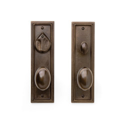 Entry Sets - CS-421PLD | Handle sets | Sun Valley Bronze