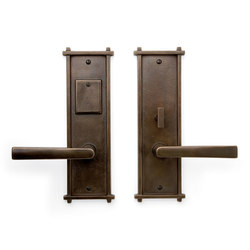 Entry Sets - CS-451ML | Handle sets | Sun Valley Bronze