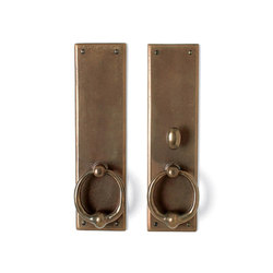 Entry Sets - CS-602ML-PF | Handle sets | Sun Valley Bronze