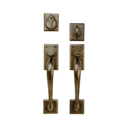 Entry Sets - CS-704HH | Handle sets | Sun Valley Bronze
