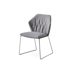 New York Chair | Visitors chairs / Side chairs | Saba Italia