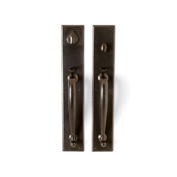 Entry Sets - CS-802HH | Handle sets | Sun Valley Bronze