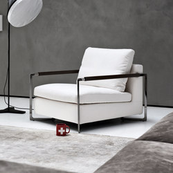 No Logo Light | Armchair | Sillones lounge | Saba Italia