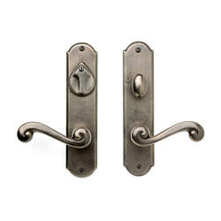 Entry Sets - CS-A407PLD | Handle sets | Sun Valley Bronze