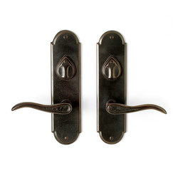 Entry Sets - CS-A410ML-DC | Handle sets | Sun Valley Bronze