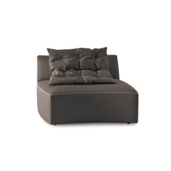 River | Sofa | Central Unit | Sillones lounge | Saba Italia