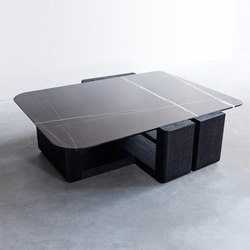 Kitale – Cocktail table | Couchtische | Van Rossum