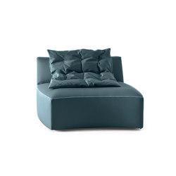 River | Sofa | Central Unit | Modular seating elements | Saba Italia