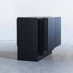 Kitale – Side table Block | Mesas auxiliares | Van Rossum