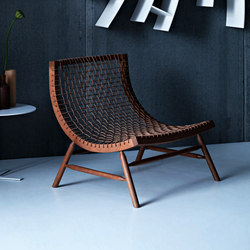 Sitar | Armchair | honey | Lounge chairs | Saba Italia