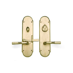 Gate Hardware - CS-GLA600PLD | Set di maniglie | Sun Valley Bronze
