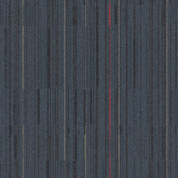 Alliteration Storm Red | Carpet tiles | Interface USA