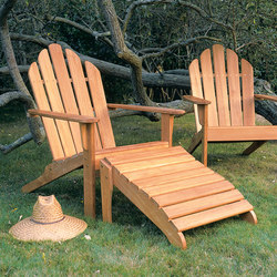 Adirondack Chair + Ottoman | Sillones | Kingsley Bate