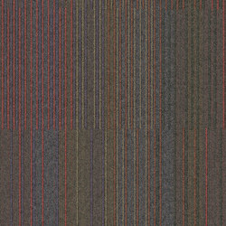 Chenille Warp Yesterday | Carpet tiles | Interface USA