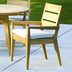 Algarve Dining Armchair | Garden chairs | Kingsley Bate