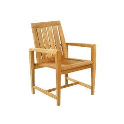 Amalfi Dining Armchair | Gartenstühle | Kingsley Bate
