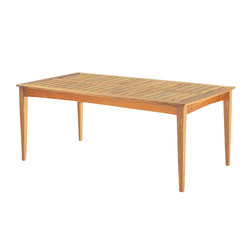 Amalfi Rectangular Dining Table | Dining tables | Kingsley Bate