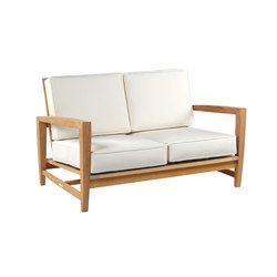 Amalfi Deep Seating Settee | Sofas | Kingsley Bate