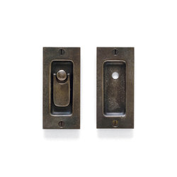 Pocket Door Sets - CS-FP203IML-PR | Flush pull handles | Sun Valley Bronze