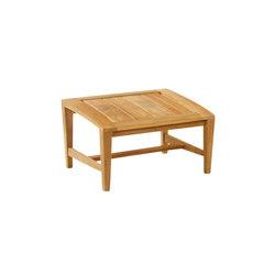 Amalfi Club Ottoman | Garden stools | Kingsley Bate