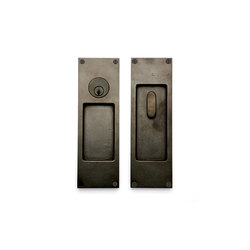 Pocket Door Sets - CS-FP450ML | Flush pull handles | Sun Valley Bronze