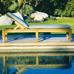 Amalfi Chaise | Bains de soleil | Kingsley Bate