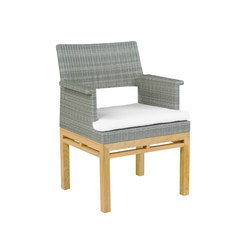 Azores Dining Armchair | Garden chairs | Kingsley Bate