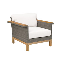 Azores Lounge Chair | Garden armchairs | Kingsley Bate