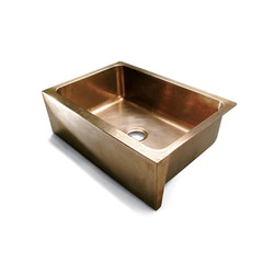 Sinks - Apron Front Farmhouse Kitchen Sink | Fregaderos de cocina | Sun Valley Bronze