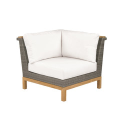 Azores Sectional Corner Chair | Garden armchairs | Kingsley Bate