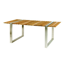 Boca Rectangular Dining Table | Tables à manger de jardin | Kingsley-Bate