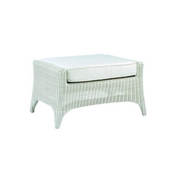 Cape Cod Deep Seating Ottoman | Garden stools | Kingsley Bate