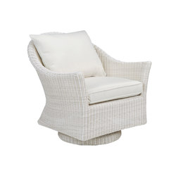 Cape Cod Swivel Rocker Lounge Chair | Garden armchairs | Kingsley Bate