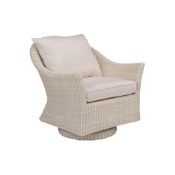 Cape Cod Swivel Rocker Lounge Chair | Sillones de jardín | Kingsley Bate
