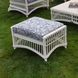 Chatham Ottoman | Garden stools | Kingsley Bate