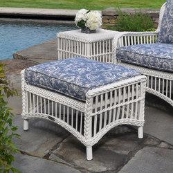 Chatham Ottoman | Garden stools | Kingsley Bate