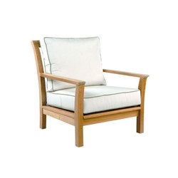 Chelsea Deep Seating Lounge Chair | Garden armchairs | Kingsley Bate