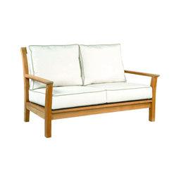 Chelsea Deep Seating Settee | Sofas | Kingsley Bate