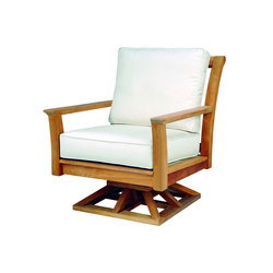 Chelsea Deep Seating Swivel Rocker Lounge Chair | Poltrone da giardino | Kingsley Bate