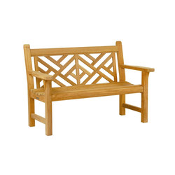Chippendale Bench | Garden benches | Kingsley Bate