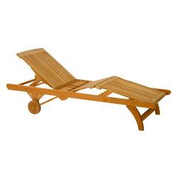 Classic Chaise | Méridiennes de jardin | Kingsley Bate